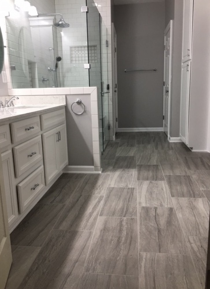 Photo By Romanoff Renovations. Complete Bathroom Remodel