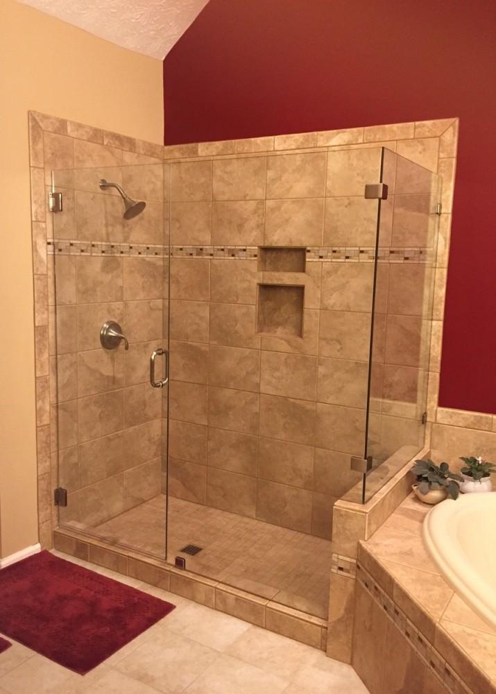 Photo By Romanoff Renovations. Bathroom Remodels