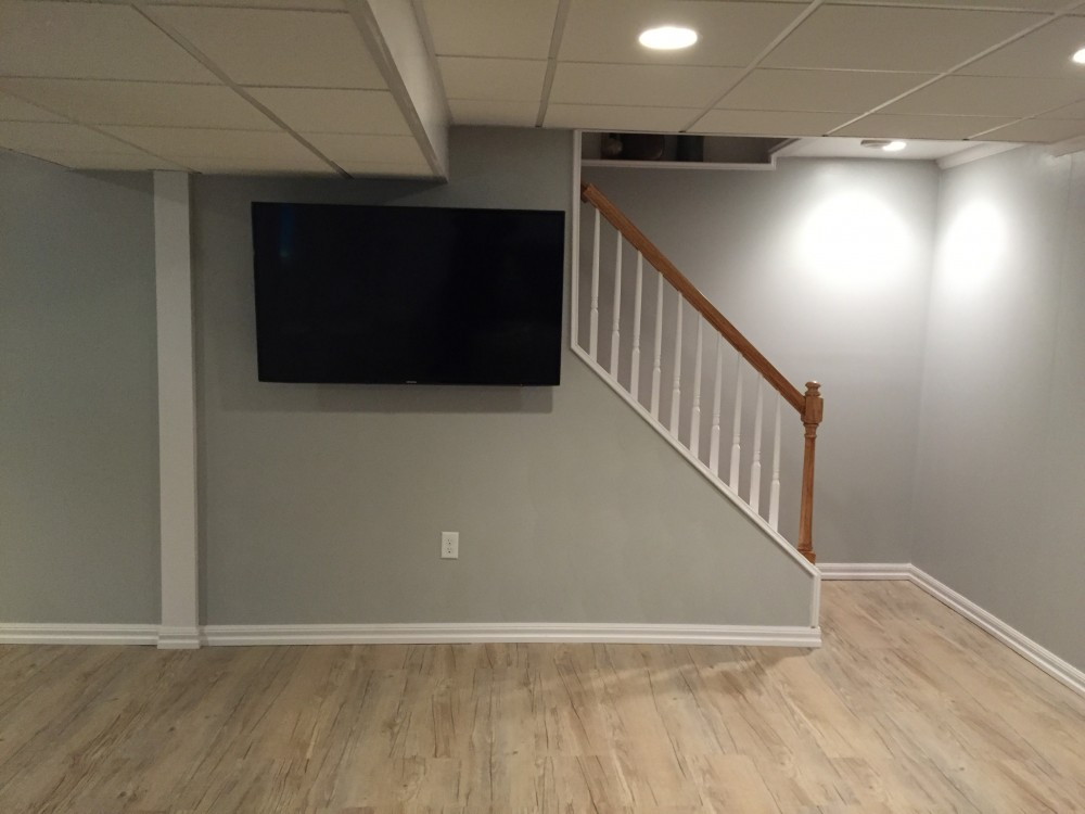 Photo By Owens Corning Basements Of New England / Lux Renovations.