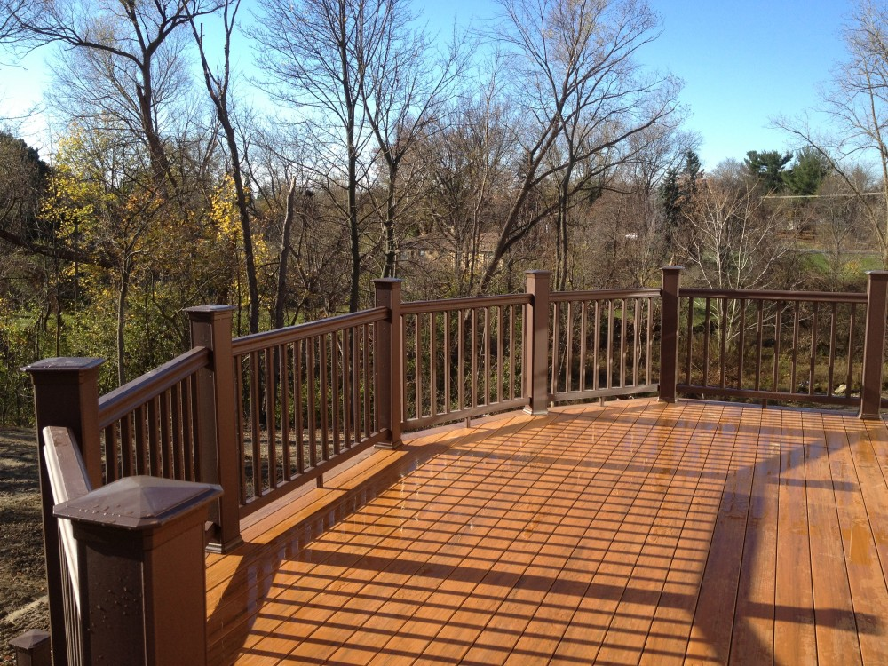 Photo By Autumnwood Construction. Cap Composite Deck