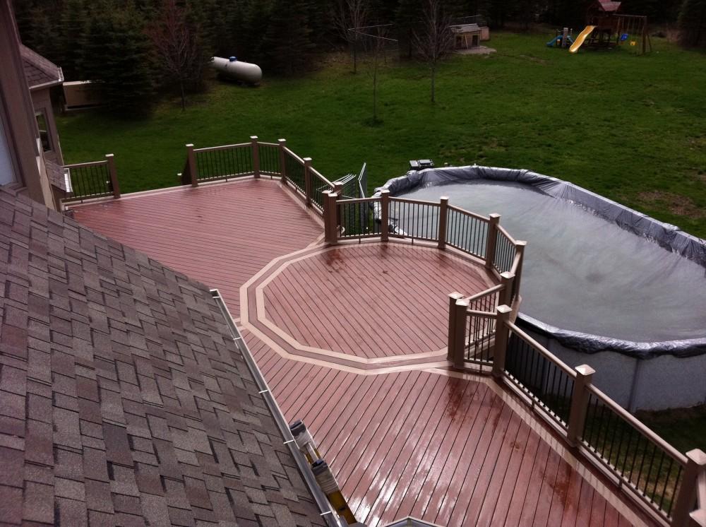 Photo By Autumnwood Construction. Cap Composite Deck