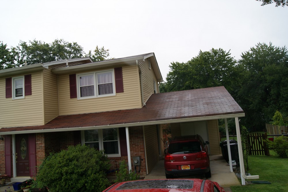 Photo By ACE Roofing - VA. BEFORE