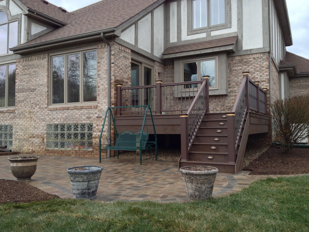 Photo By Autumnwood Construction. Deck