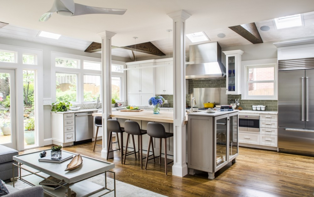 Photo By Alair Homes Decatur. Morningside - Contemporary Kitchen
