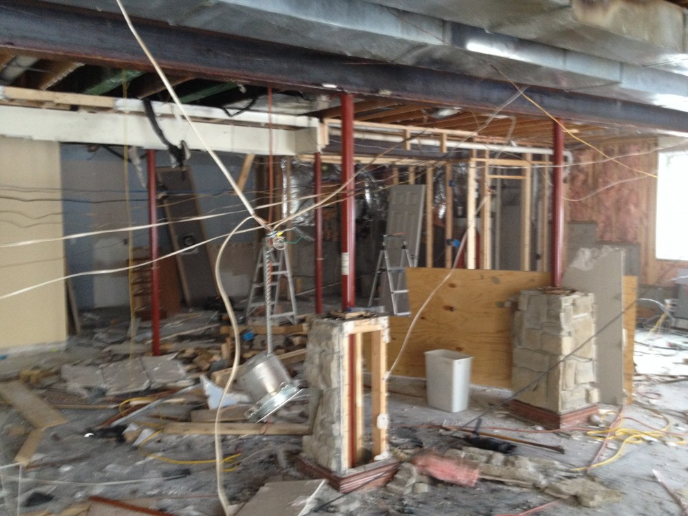 Photo By Clarke Contractors, Inc.. Fire Damage Restoration