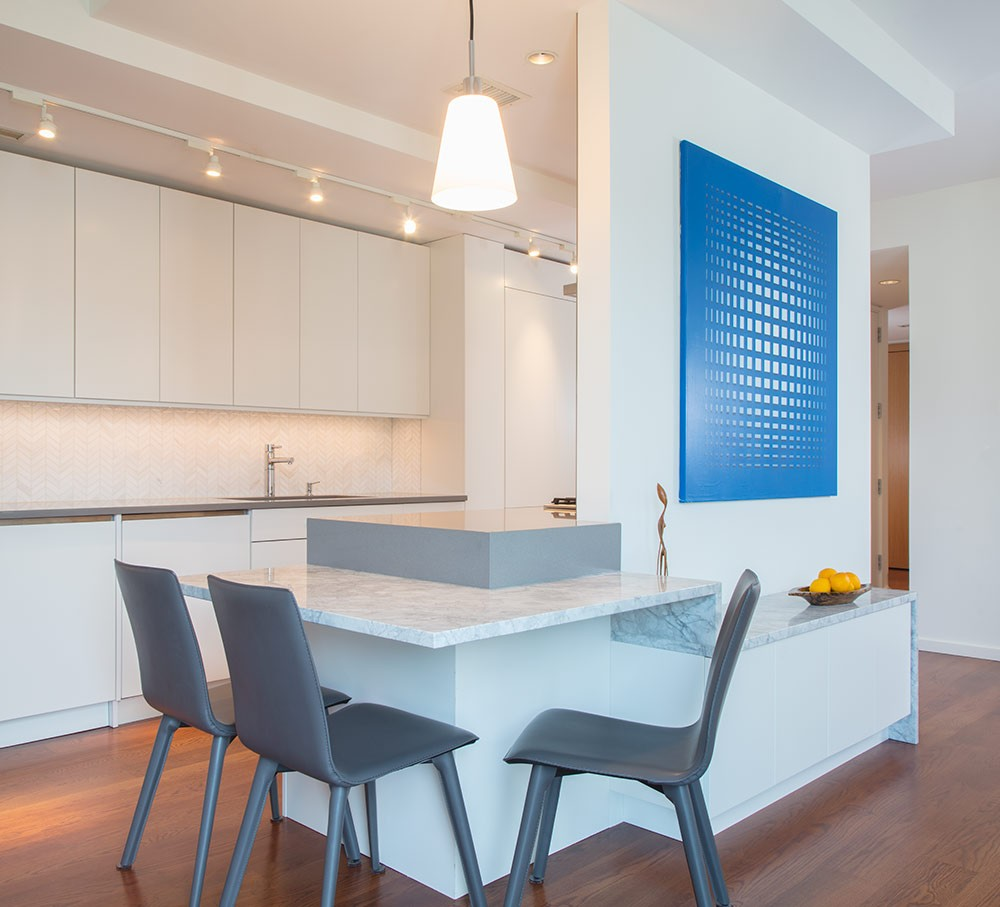 Photo By Wentworth, Inc.. CityCenterDC Condo Merge & Remodel