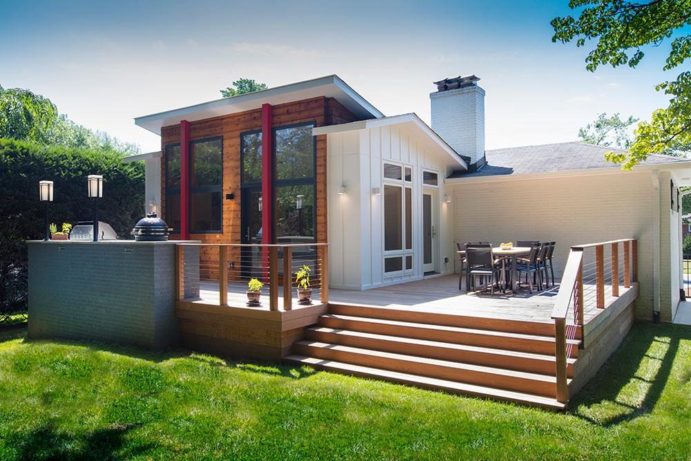 Photo By Wentworth, Inc.. Kitchen & Outdoor Space Addition In Garrett Park