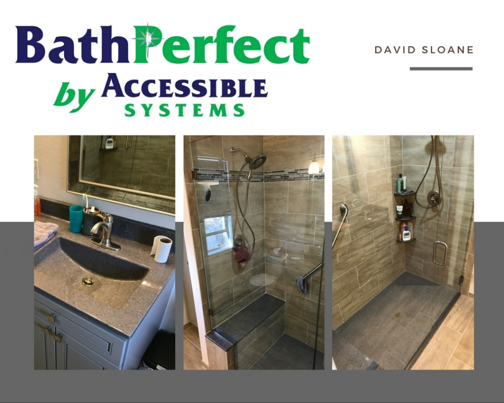 Photo By BathPerfect By Accessible Systems. Modern Design