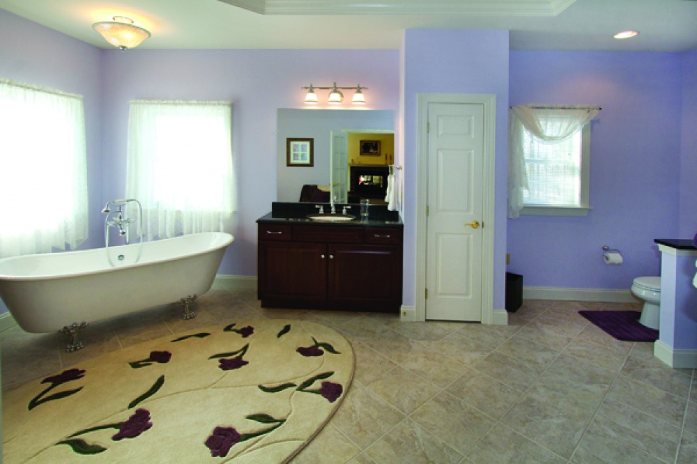 Photo By Renovations By Garman. Master Bath