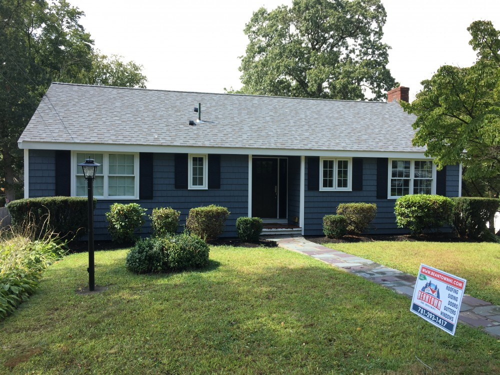 Photo By Beantown Home Improvements. Vinyl Siding, Roof, Windows, Doors, Gutters