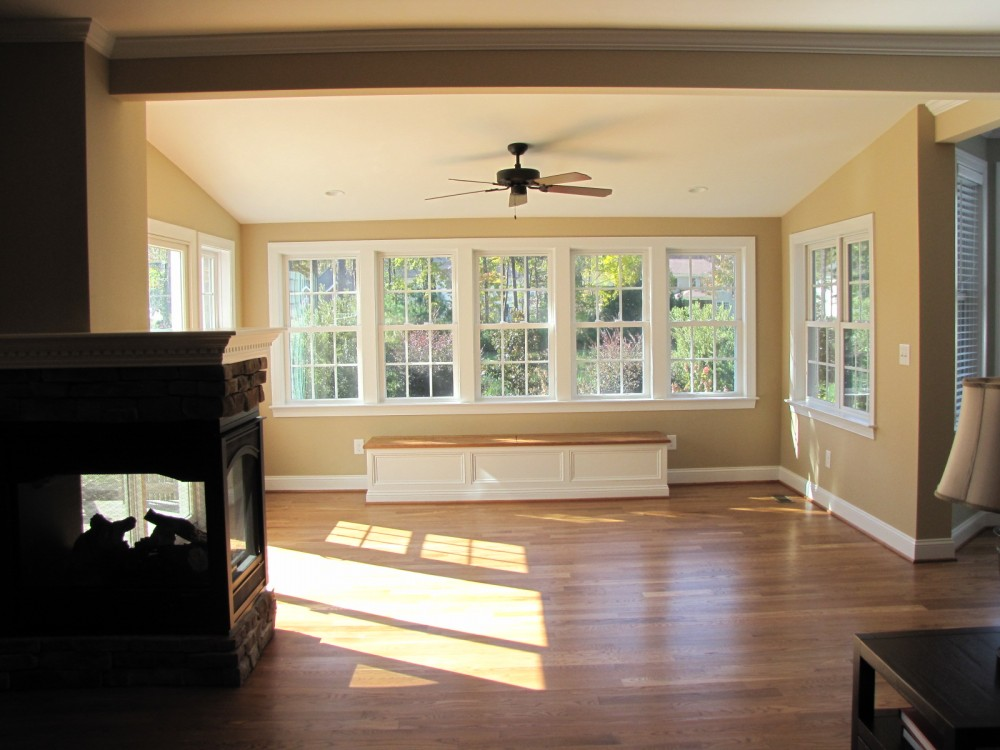 Photo By T.R. Builder, Inc.. A New Florida Room/Play Area