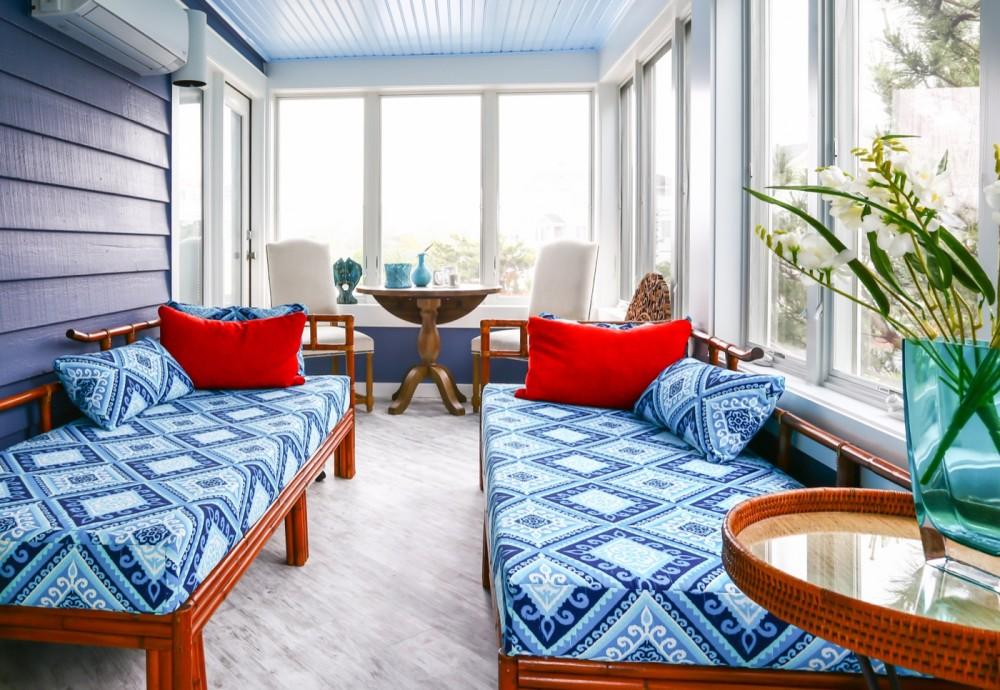 Photo By Boardwalk Builders. Porch & Bath Remodel