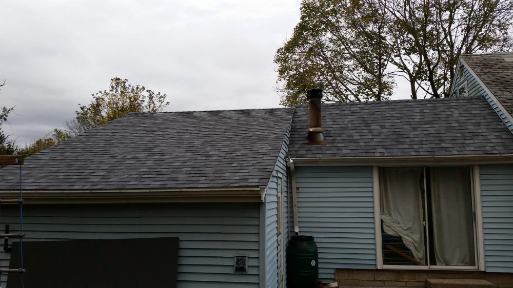 Photo By Beantown Home Improvements. Garage/Breezeway Roof