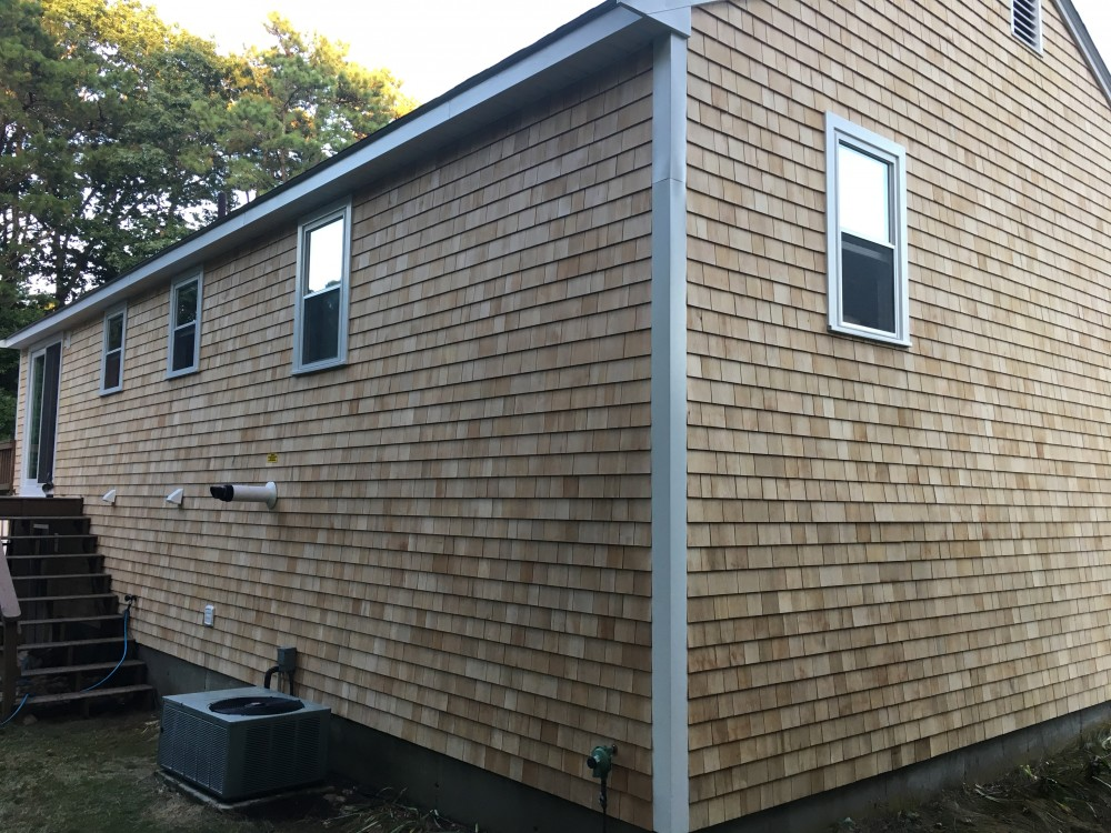Photo By Beantown Home Improvements. New Roof, Windows, Slider And Cedar Siding