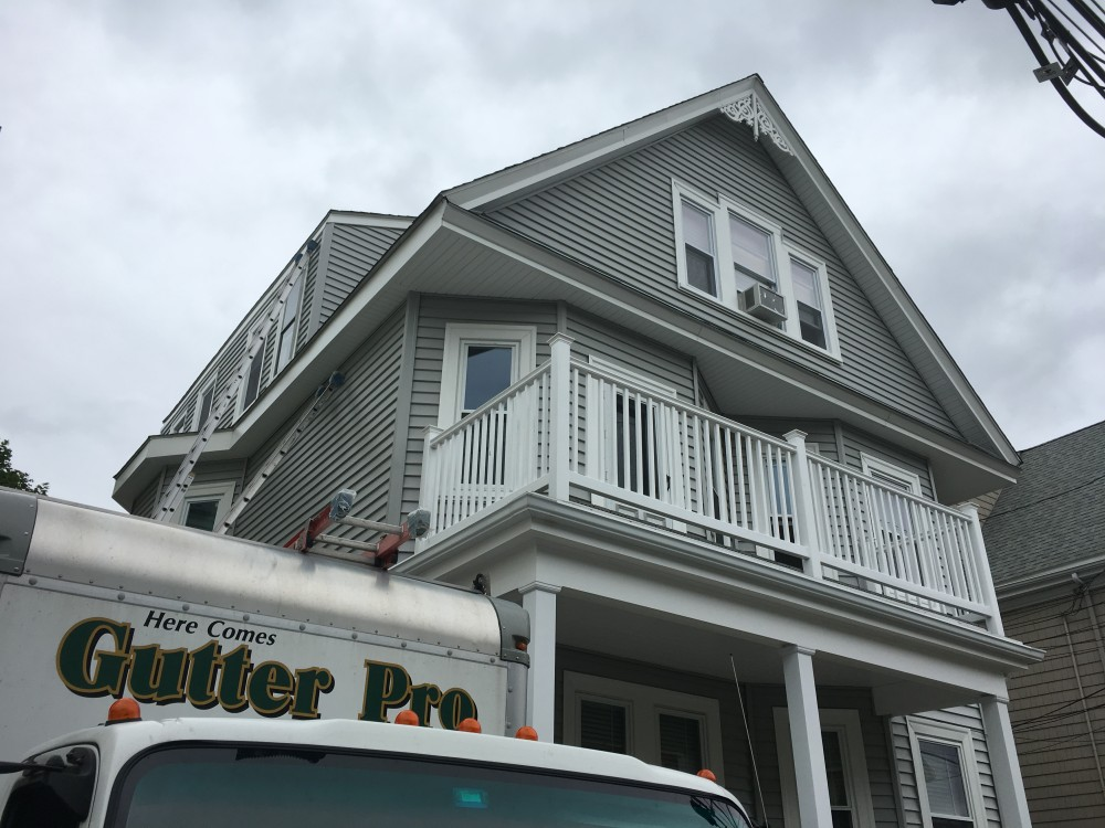 Photo By Beantown Home Improvements. New Windows, Vinyl Siding And Gutters