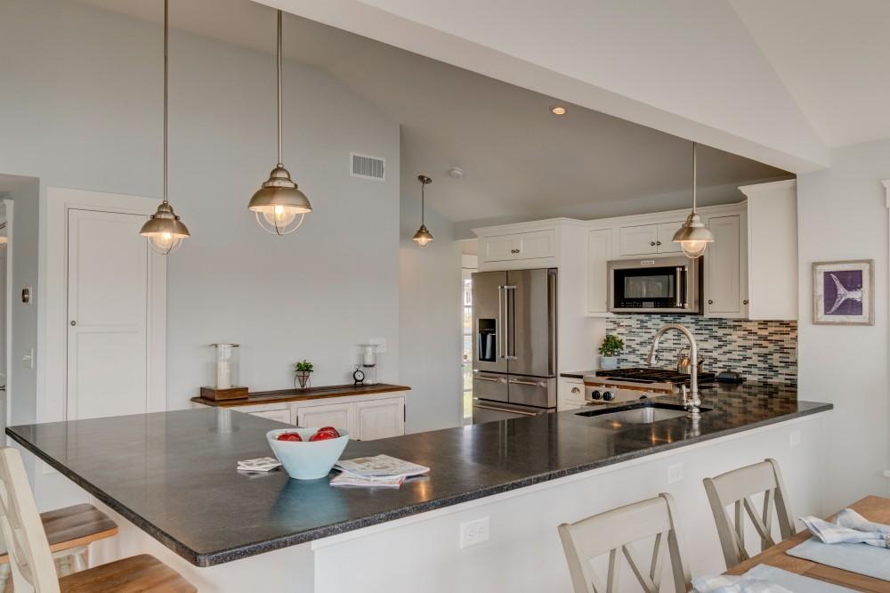 Photo By Barnes Custom Builders. Kitchen-Sun Room Remodel