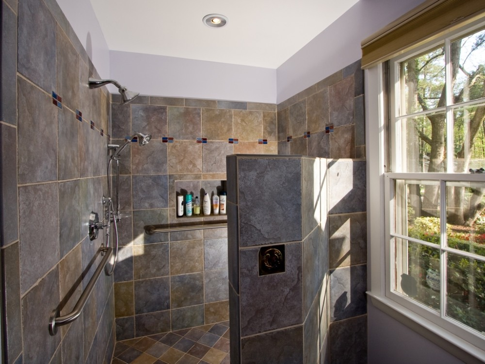 Photo By Golden Rule Creative Remodel. Sky And Stone Bath