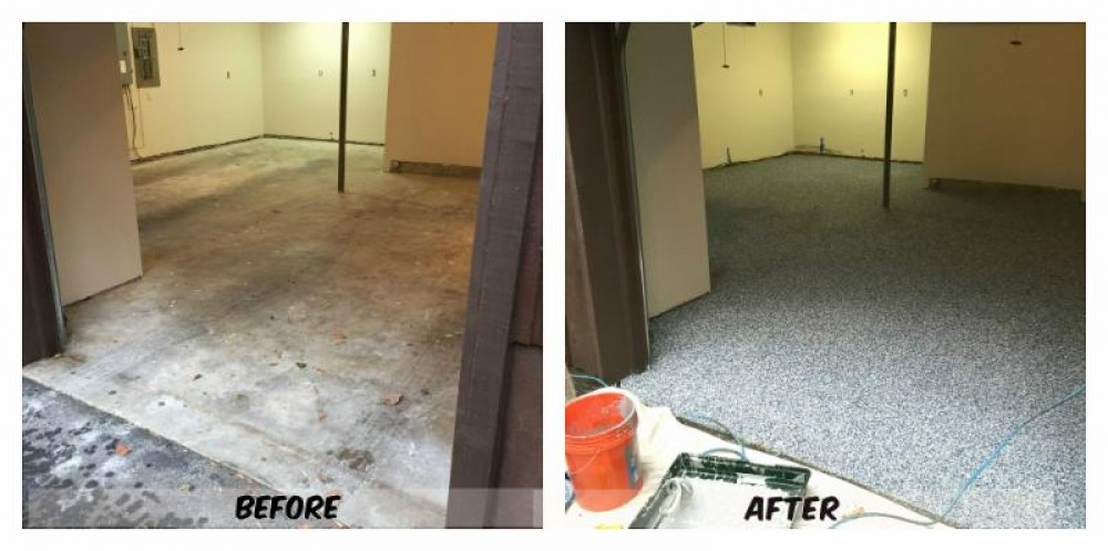 Photo By Hopkins & Porter Construction, Inc.. Before & After