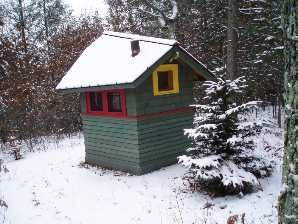 Photo By Sylvestre Construction Inc. Outhouse
