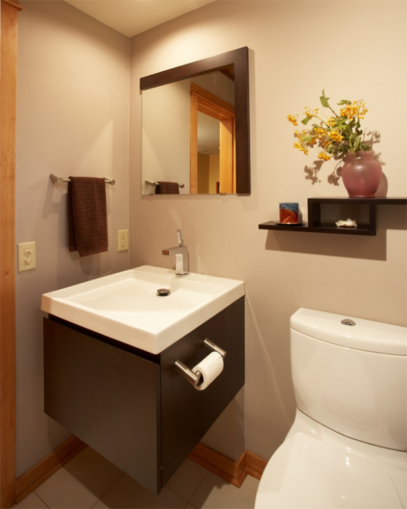 Photo By Sylvestre Construction Inc. Bathrooms