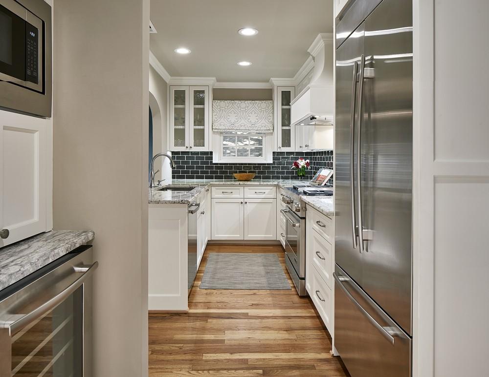 Photo By Blackline Renovations. Kitchen & Master Bath Remodel