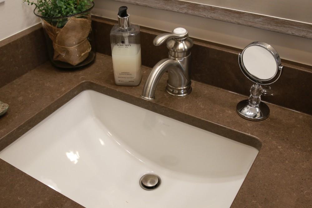 Photo By Prendergast Construction. Master Bathroom Renovation