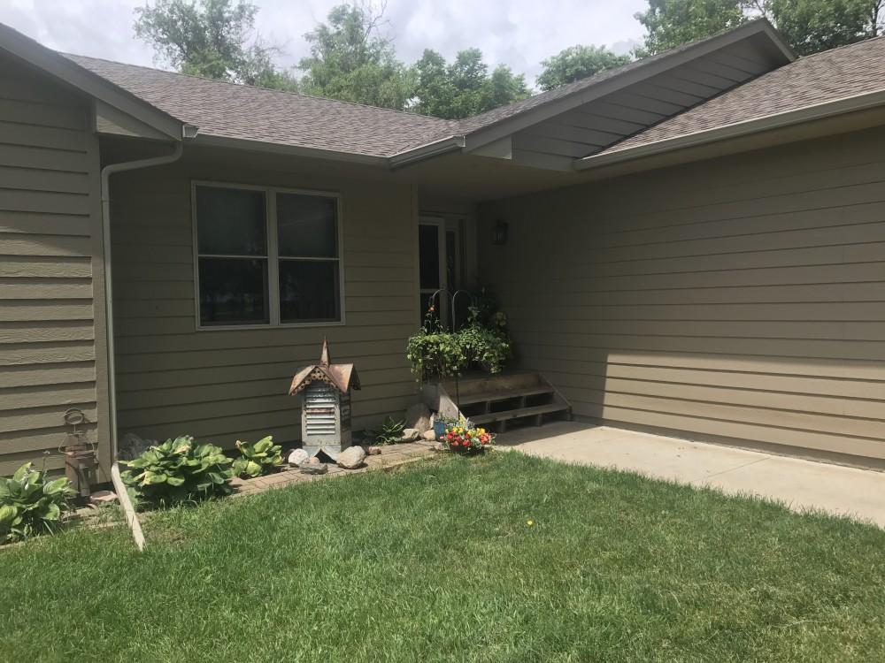 Photo By Juranek Home Improvement. Timbertech Terrain Deck In Silver Maple