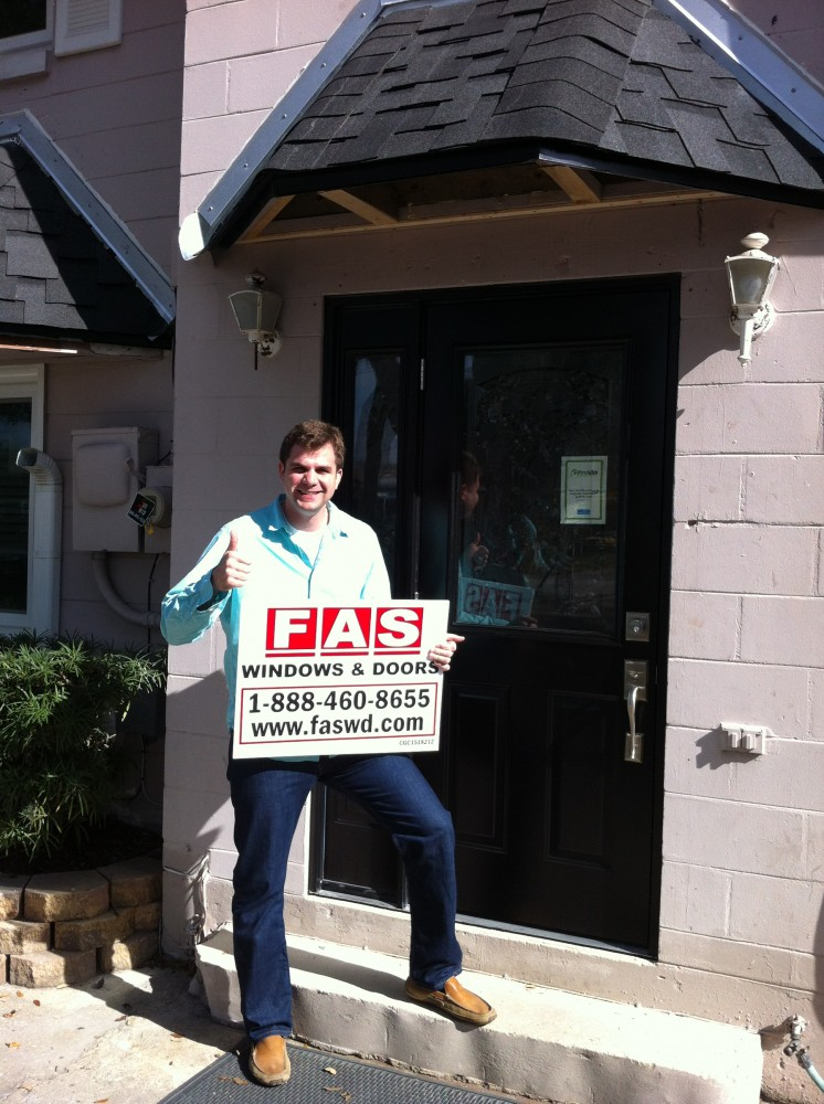Photo By FAS Windows & Doors. FAS Happy Customers!