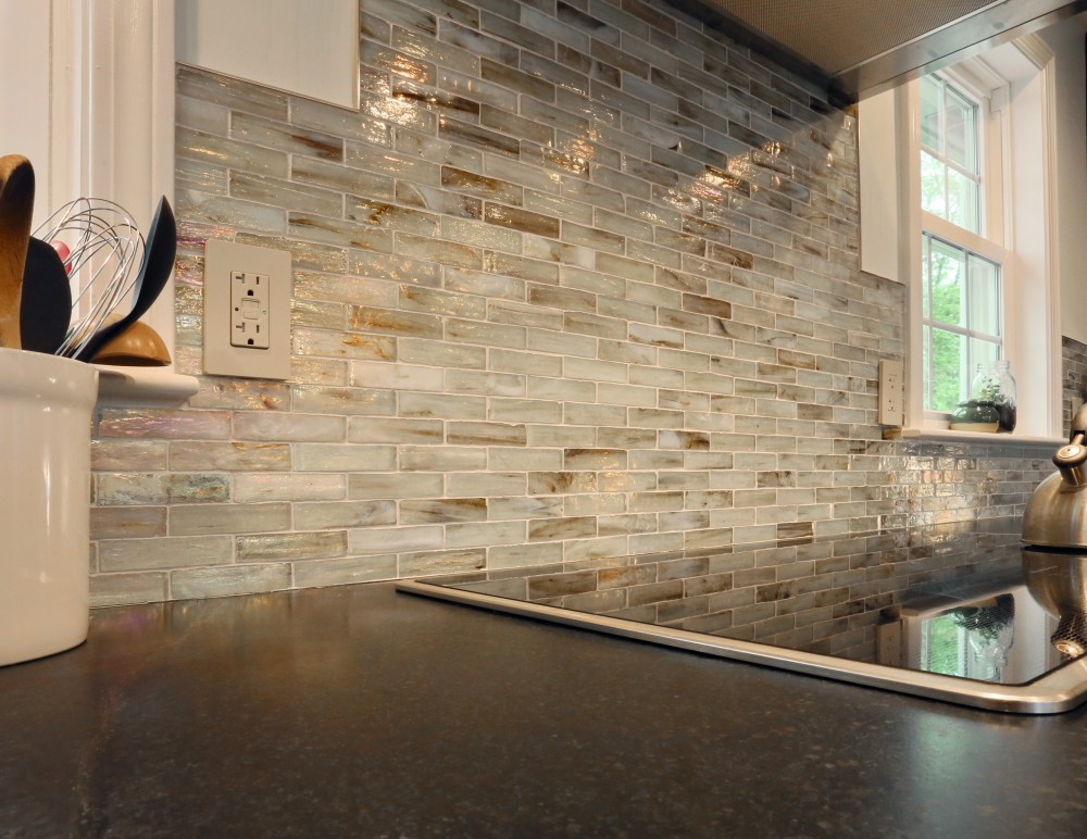 Photo By New England Design & Construction. First Floor Living And Kitchen Area