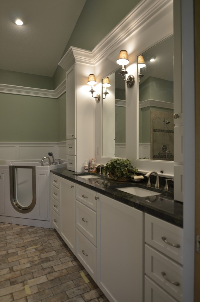 Photo By Russell Room Remodelers. Bathrooms