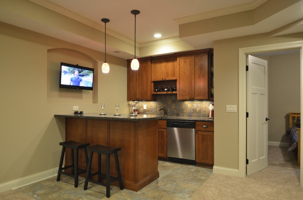 Photo By Russell Room Remodelers. Lower Level/Family Rooms