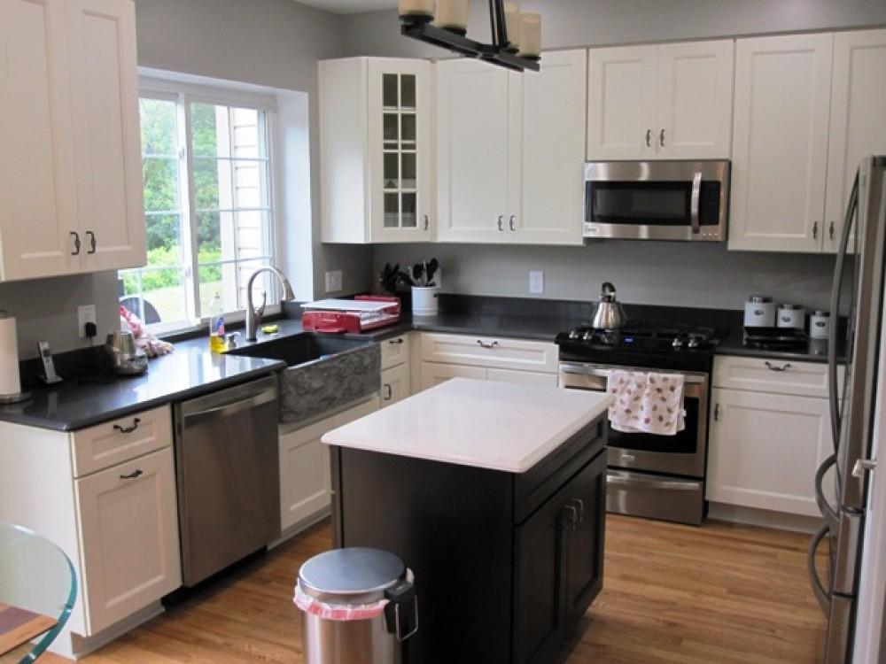 Photo By All Renovations. Custom Kitchen