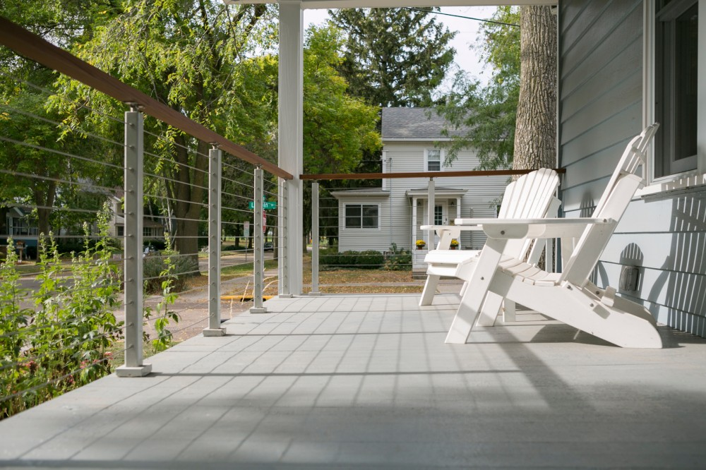 Photo By TDS Custom Construction. Porch Remodel