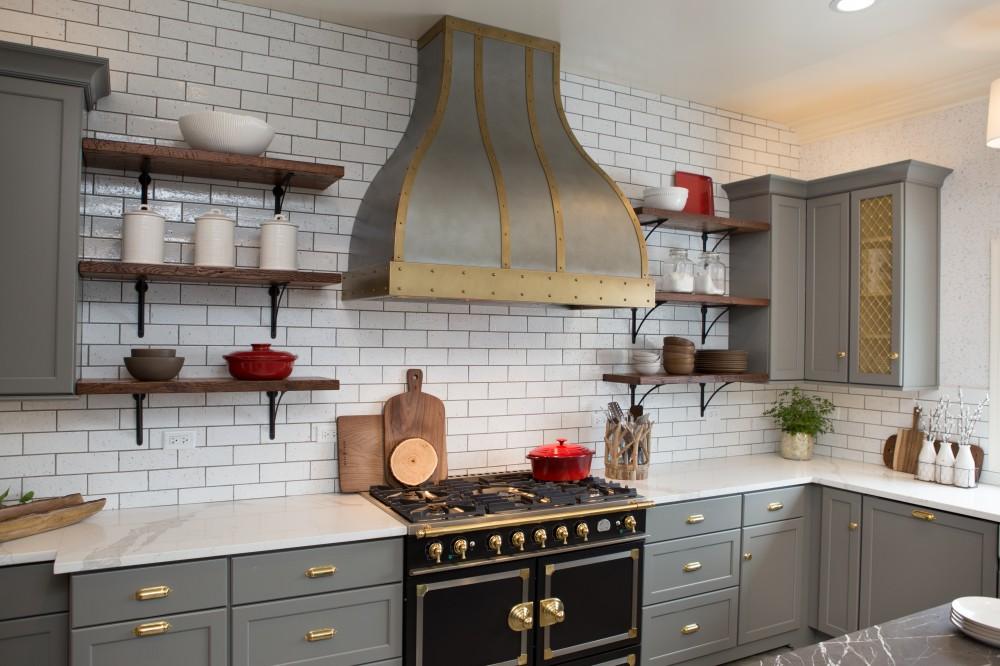 Photo By Advance Design Studio, Ltd.. Deer Park Common Sense Kitchen Renovation
