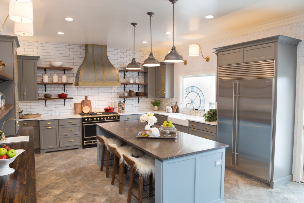 Photo By Advance Design Studio, Ltd.. Deer Park Common Sense Kitchen Renovation