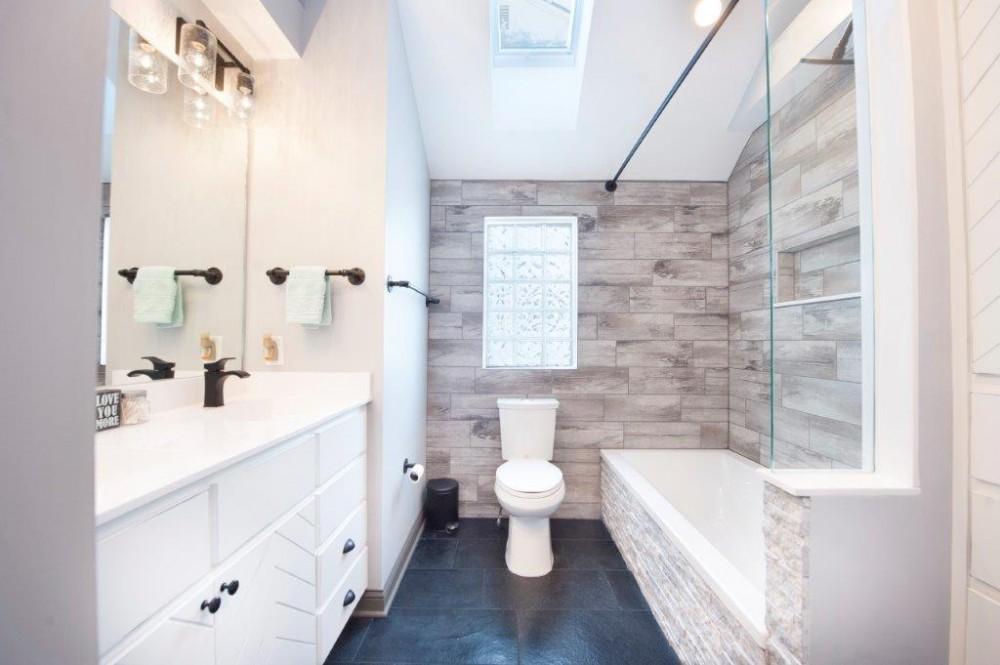 Photo By Pat Scales Remodeling. Grandview Master Bathroom Remodel