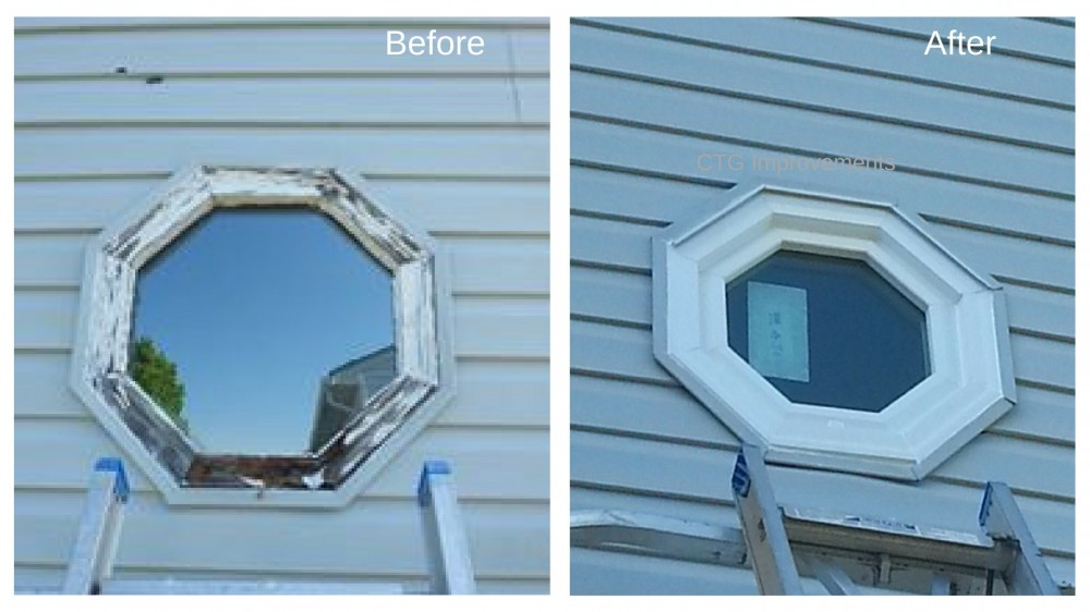 Photo By CTG Improvements, Inc.. Window Replacements