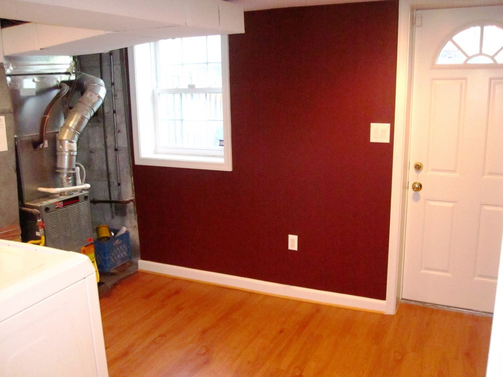 Photo By All Renovations. Basement Finish With Laundry