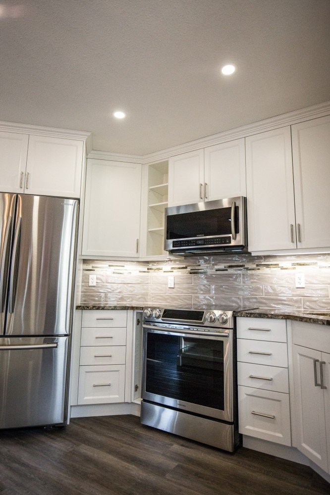 Photo By Peak Improvements LTD. Kitchen & Ensuite