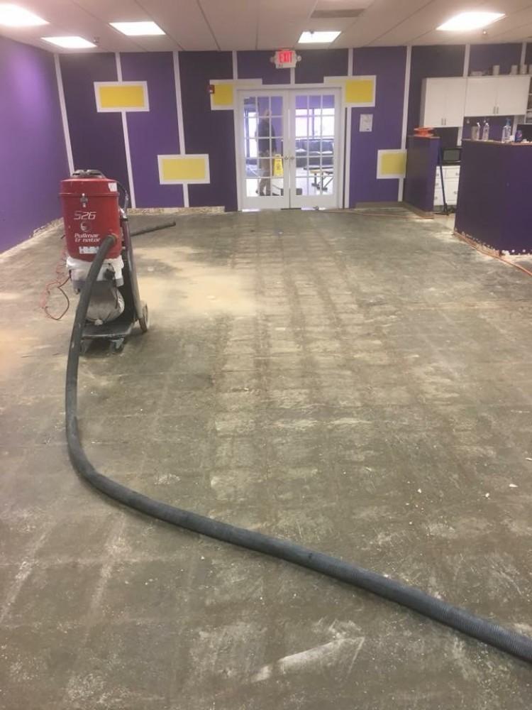 Photo By Columbus Garage Floor Coating. Commercial Floor - Super Games