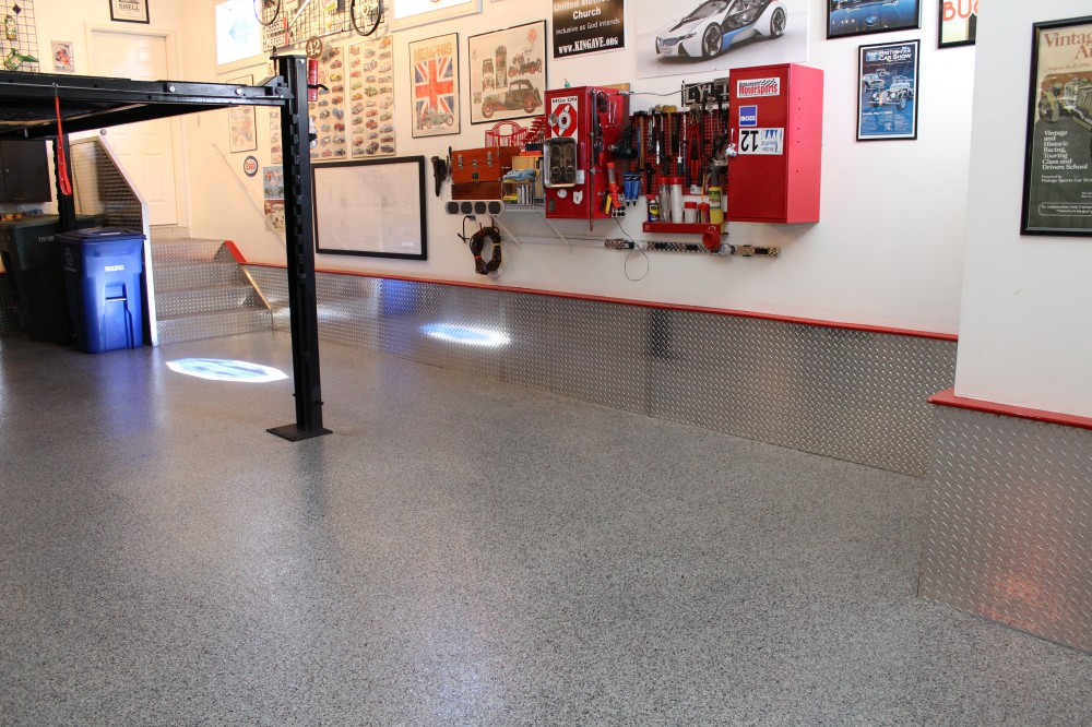Photo By Columbus Garage Floor Coating. Collector's Garage