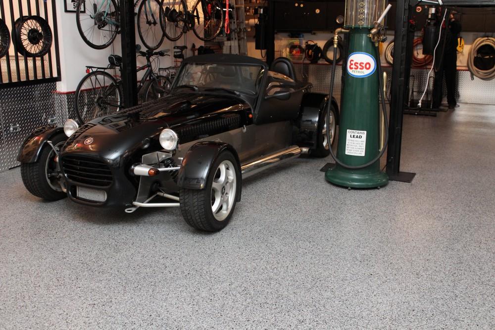 Photo By Columbus Garage Floor Coating. Collector's Garage