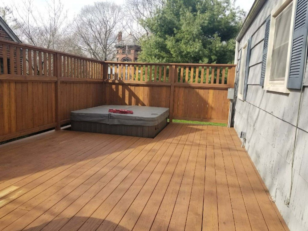 Photo By Fresh Coat Painters Of Dublin. Deck & Fence Staining