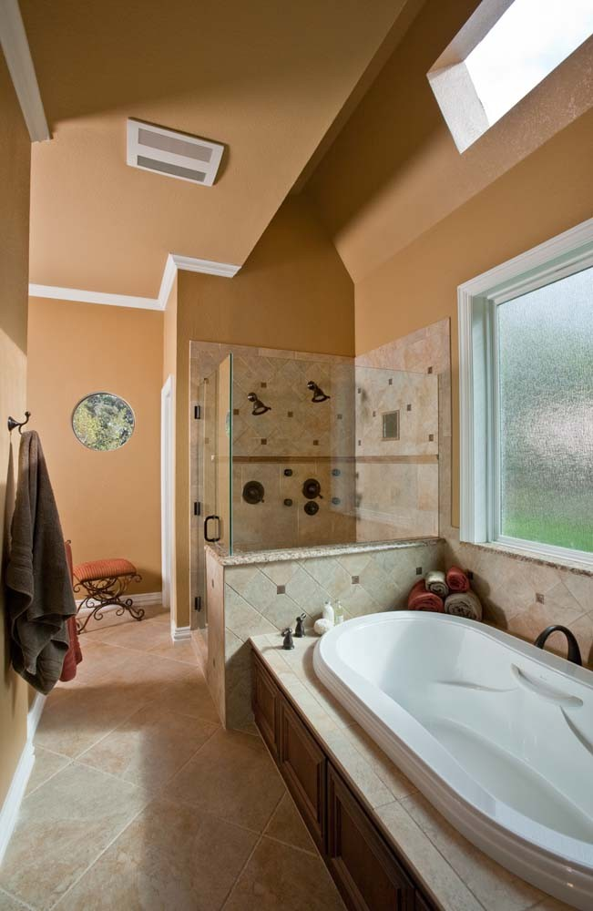 Photo By Curb Appeal Renovations. Master Bath Remodel