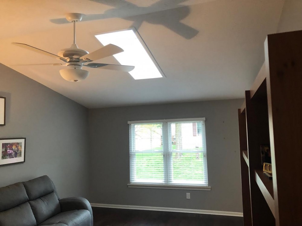 Photo By Home Building Solutions LLC. New Skylight Install