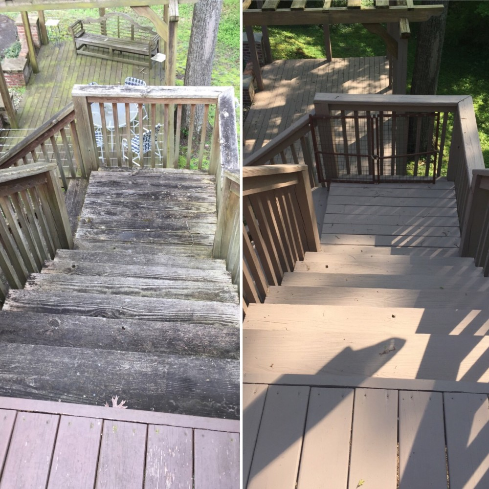 Photo By Fresh Coat Painters Of Belle Meade. Deck Sealing And Staining