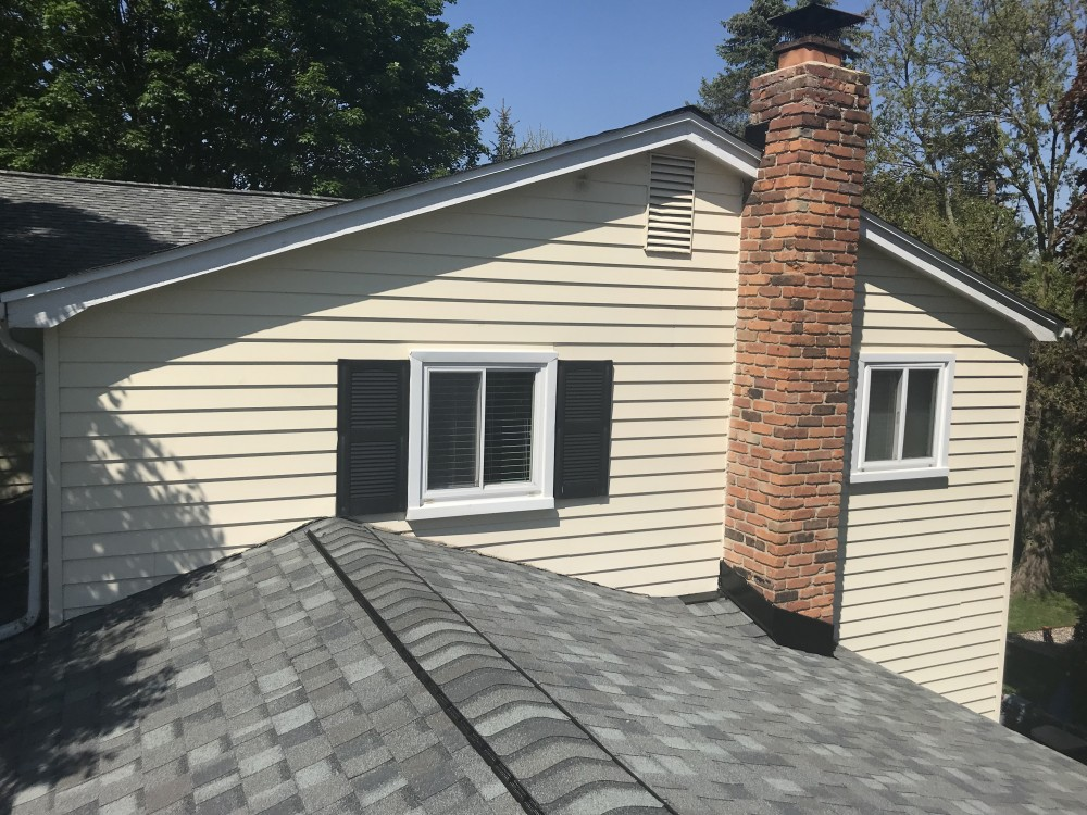 Photo By Bloomfield Construction Company. New Roof Photo