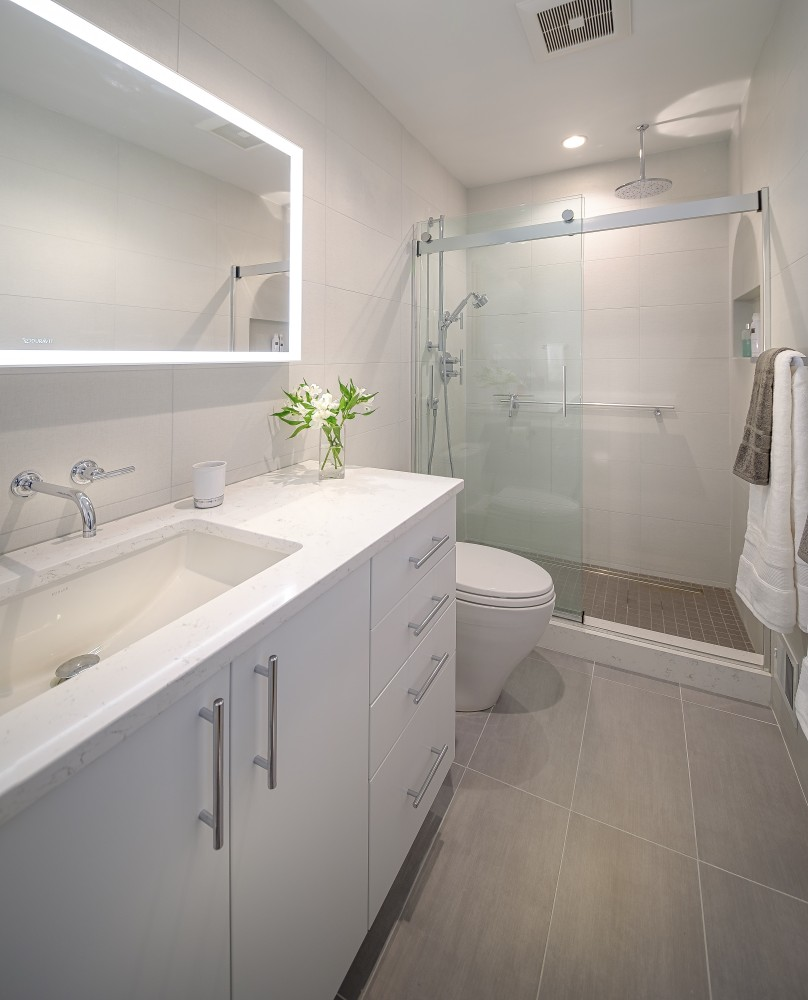 Photo By Hopkins & Porter Construction, Inc.. Bathroom Remodel
