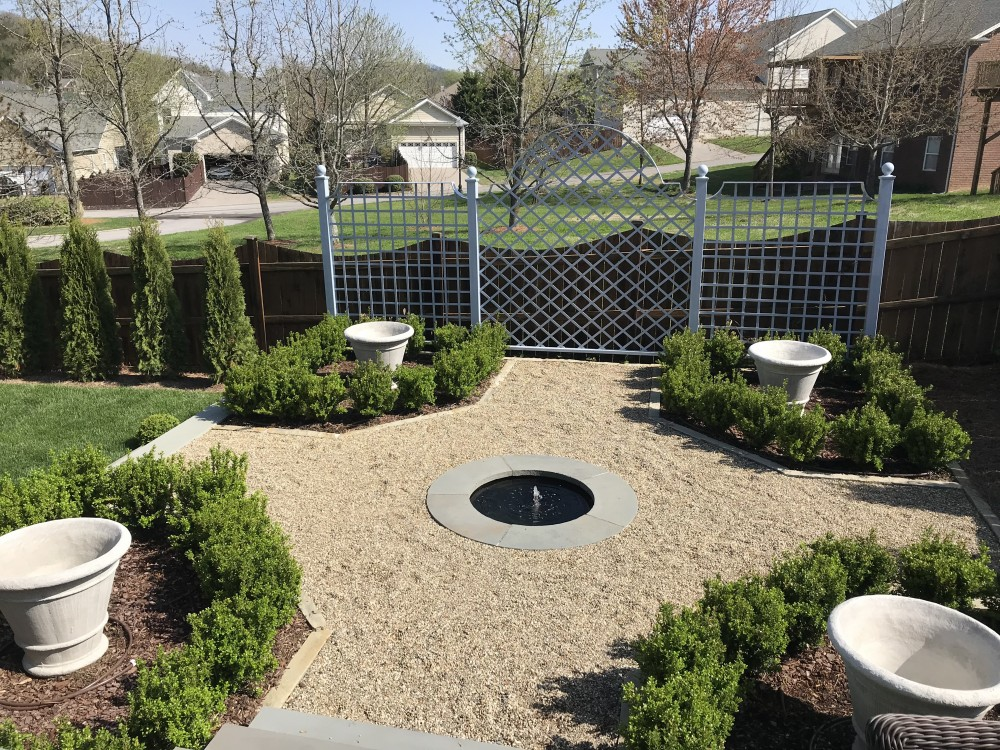 Photo By Troy Rhone Garden Design. Backyard