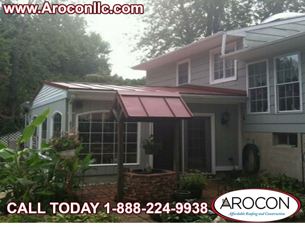 Photo By Arocon Roofing And Construction. Metal Roof Project